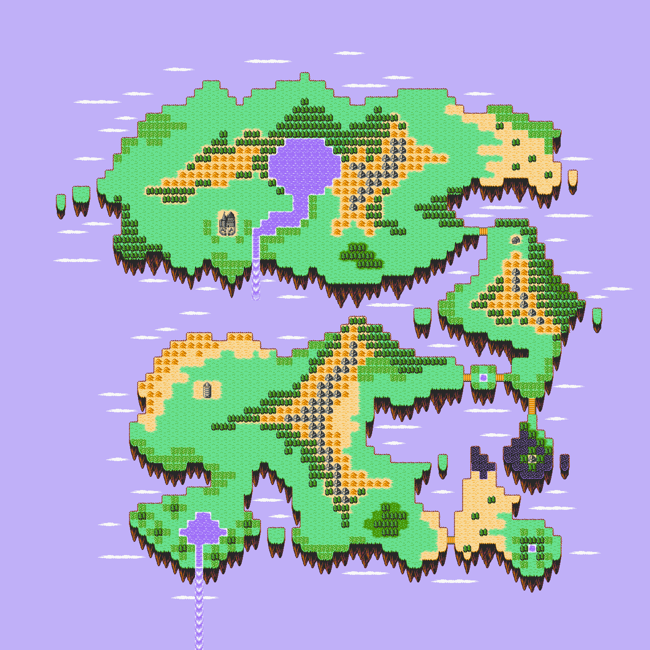 Retro game challenge guadia quest now that theres a fan translation of the second game i felt obliged to map the guadia quest saga world gumiabroncs Images