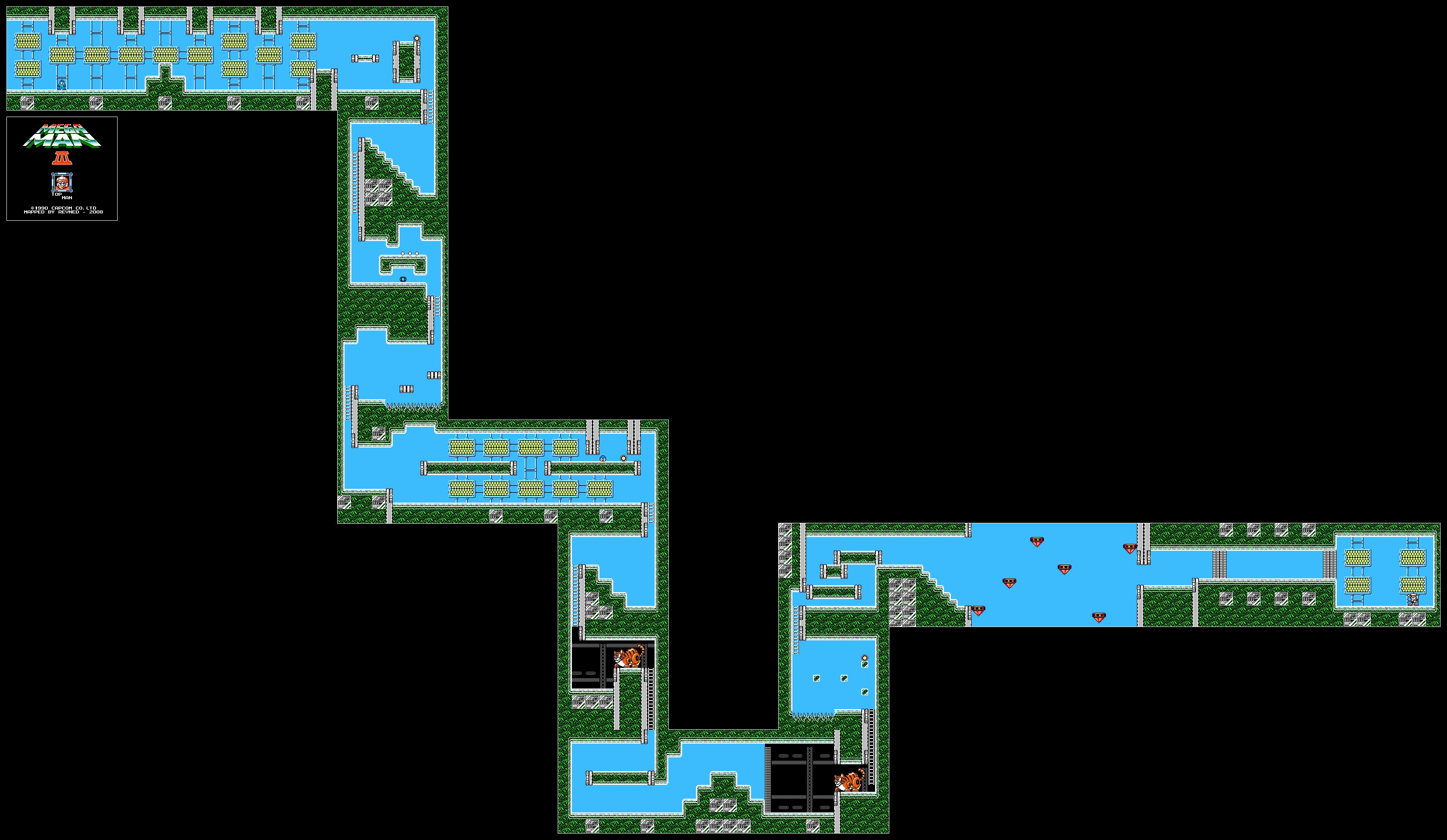 Revned S Video Game Maps Mega Man Iii
