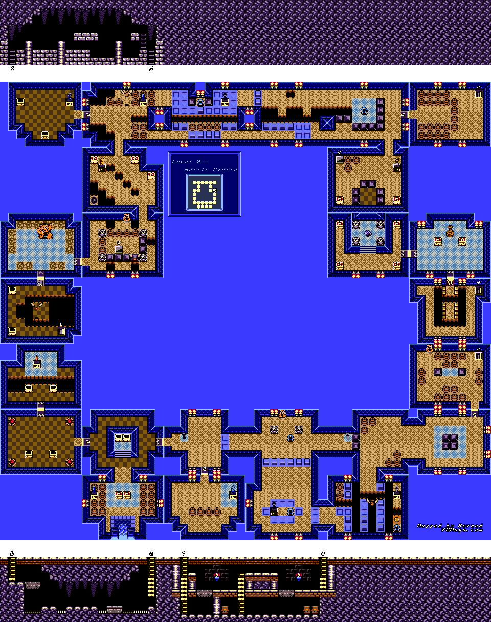 Revned's Video Game Maps - The Legend of Zelda: Link's Awakening