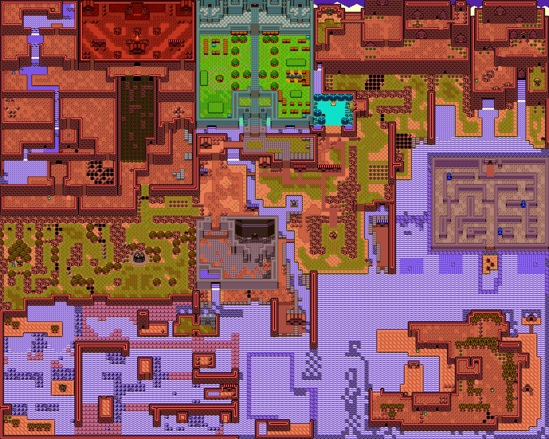 The Legend of Zelda: Oracle of Ages - Revned\'s Video Game Maps