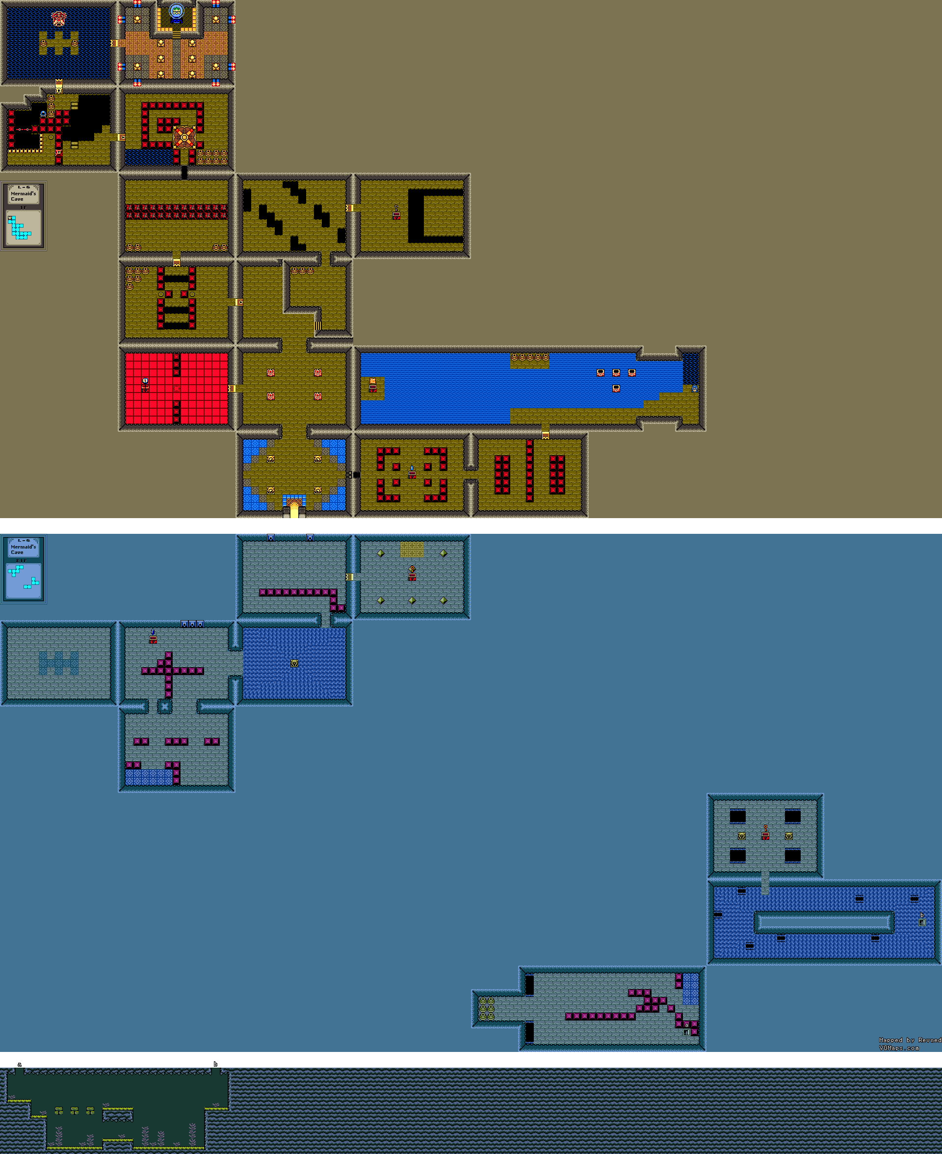 Revned's Video Game Maps - The Legend of Zelda: Oracle of Ages